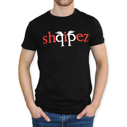 SHQIPEZ Crewneck T-shirt | Black