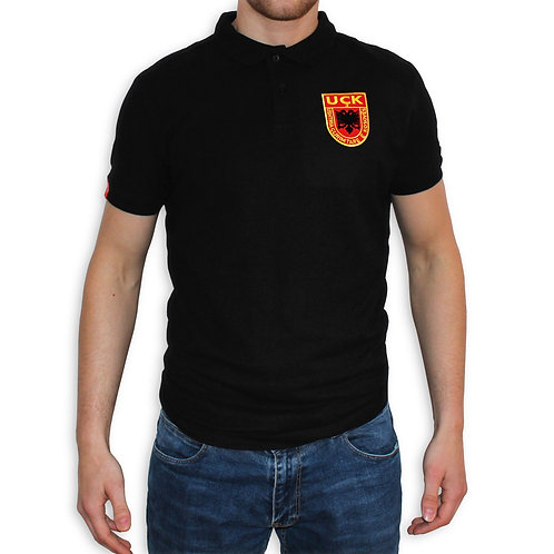 SHQIPEZ Polo-shirt | Black