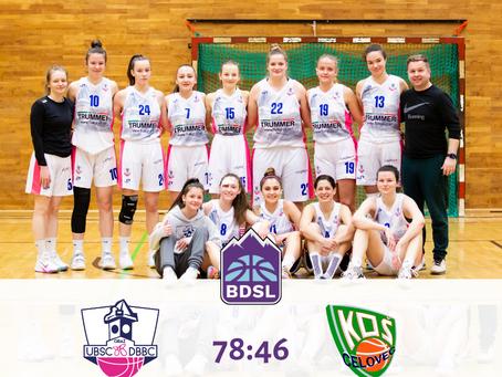 BDSL: Sieg gegen KOS Celovec (78:46)