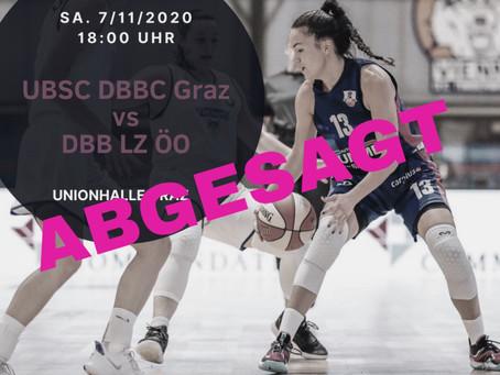 BDSL Spiel abgesagt!
