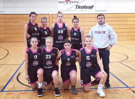 2. Damen Superliga: Niederlage gegen TI Innsbruck (72:40)