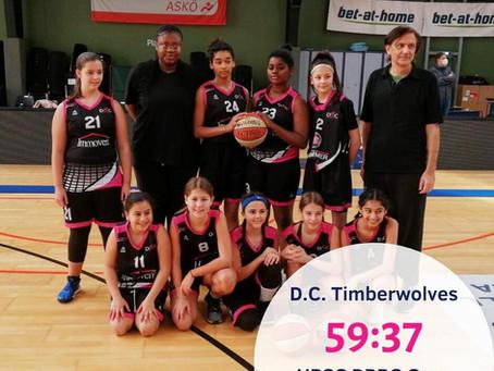 SL14w: Niederlage gegen D.C. Timberwolves (59:37)