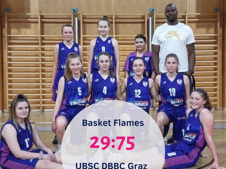 SL19w Sieg gegen Basket Flames (29:75)