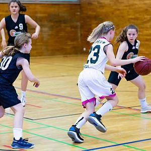 WU14 ÖMS gegen Basket Flames