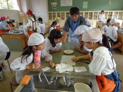 松本大学生との調理実習⑥
