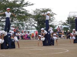 0921運動会(組体操4~6年)