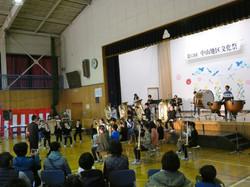 1103中山地区文化祭で発表(金管バンド)