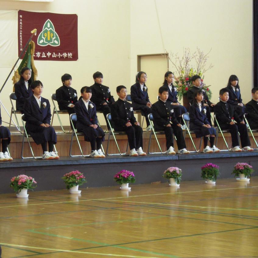 03・15卒業式①