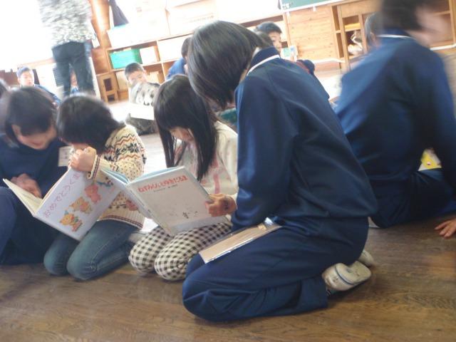 1年生から6年生への読み聞かせ②