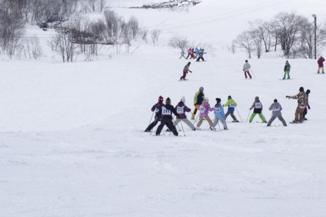 4~6年スキー教室①
