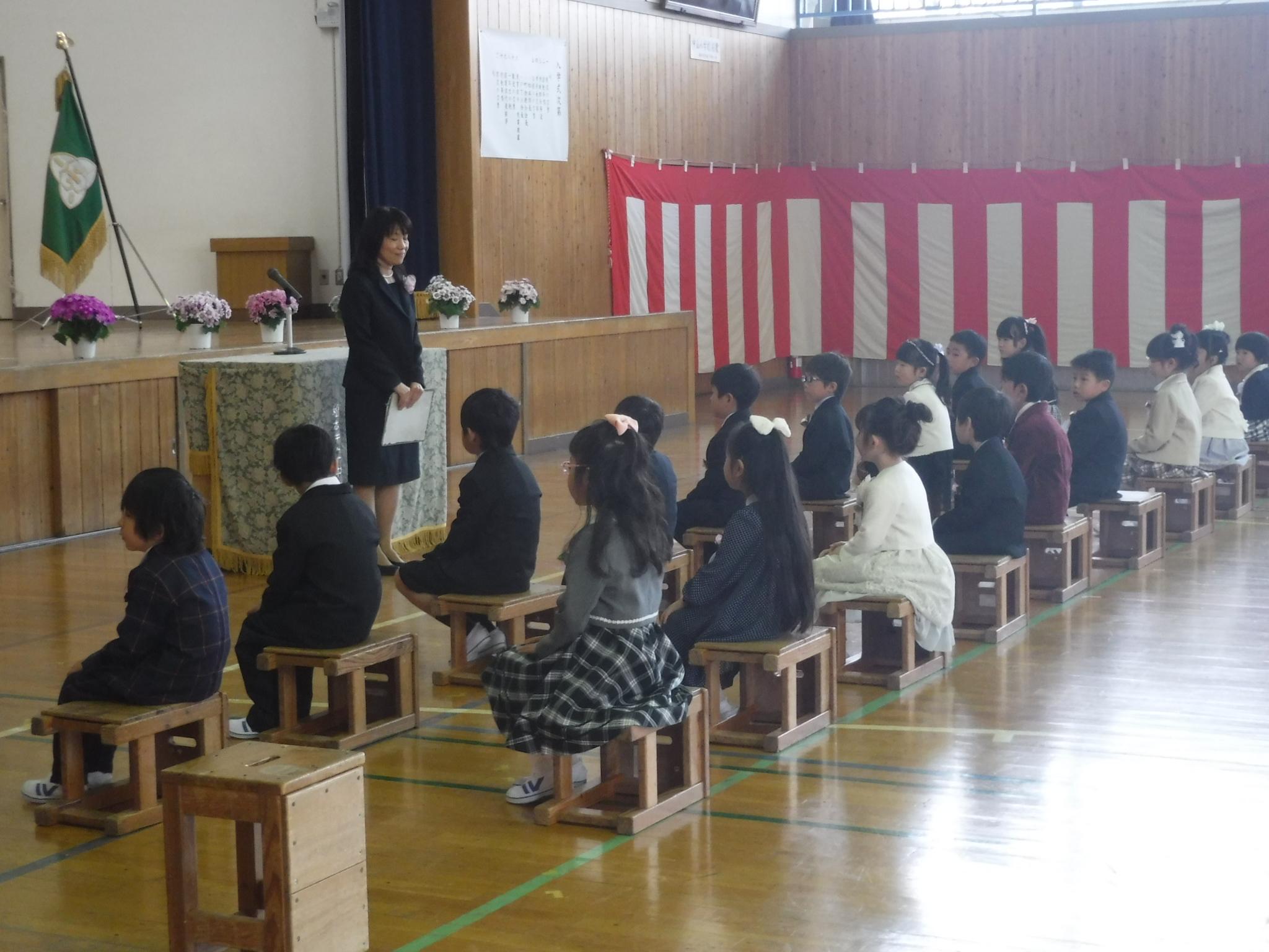 4・5入学式1年担任発表