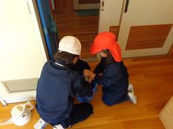 姉妹学級清掃②