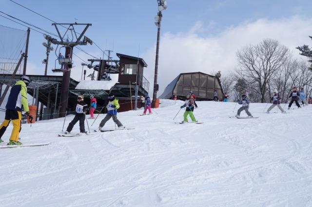 4~6年スキー教室③