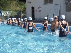 水泳学習(2年)