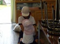 姉妹学級清掃③