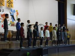 音楽会(6年合唱)