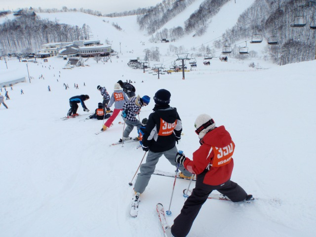 スキー教室②