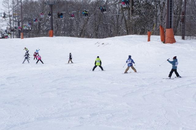 4~6年スキー教室②