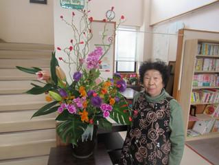 公民館の花