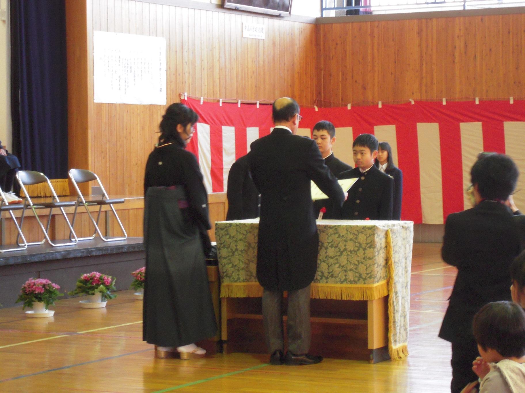 03・15卒業式②