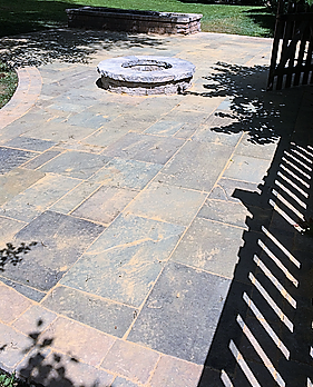 Hardscape with Fire Pit