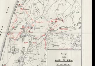 חציית הירקון על ידי הבריטים 1917