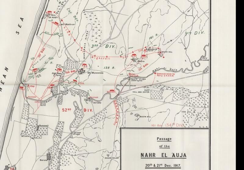 דיוויזיה 52 חוצה את הירקון 1917