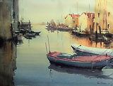 Chioggia,Italy-WC 45 x 60 cm  2016.JPG