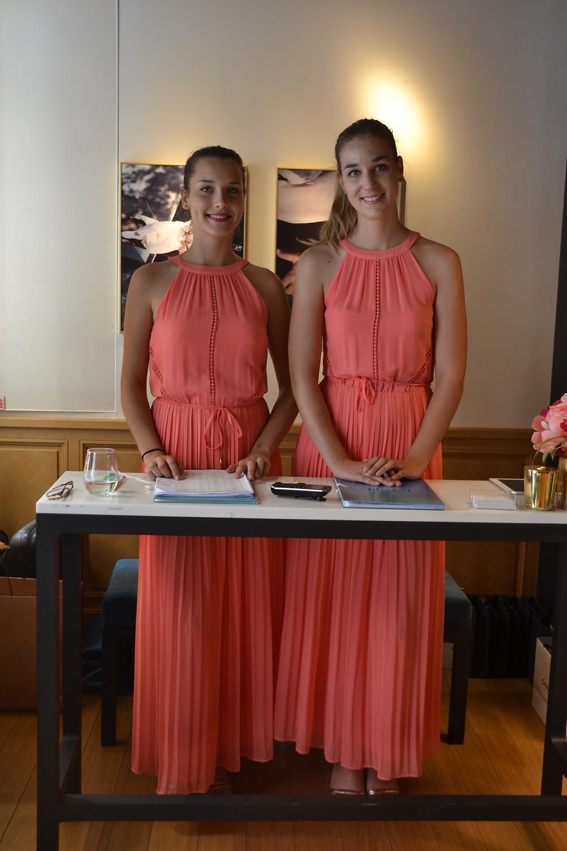 Hôtesses Zoom l'Agence accueil en boutique de luxe