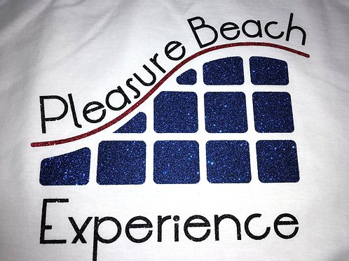 PBE 'Glitter Logo' T-Shirt