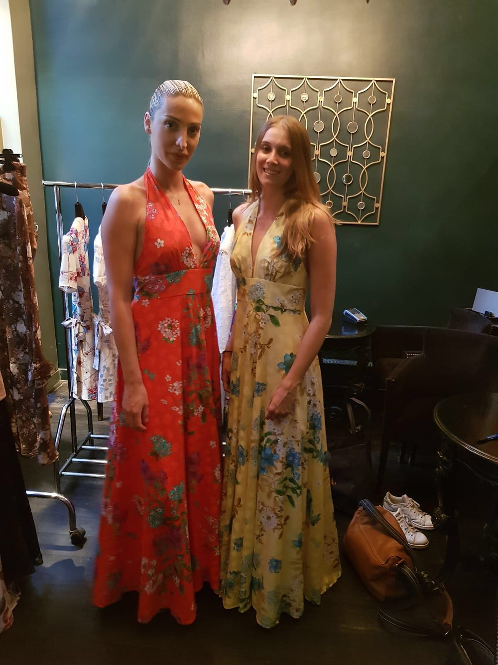 Mannequins Zoom l'Agence pour le défilé en robe 8 madeleine