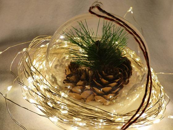 Pine Cone Festive Bauble