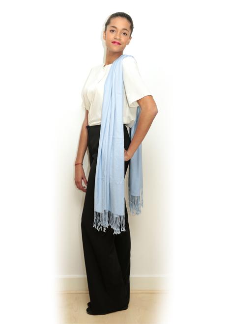CONCORDE - Pashminas - Bleu ciel