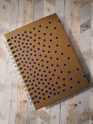 Blue Spots Mini Notebook