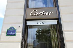 Réouverture de la boutique Cartier Champs Élysées