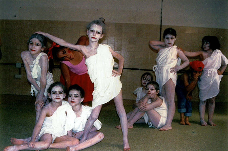 Ballet  y  Contemporáneo     8 - 12 años