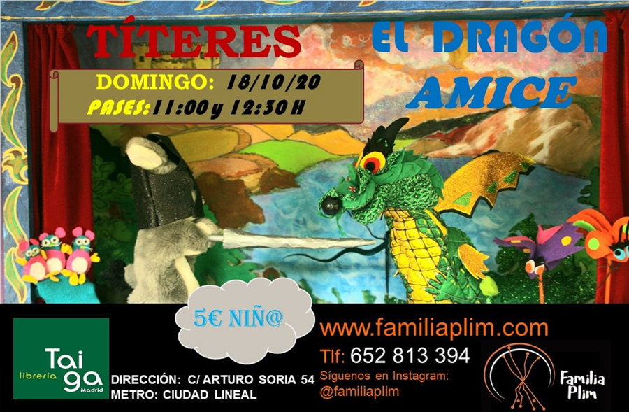 CARTEL DRAGON LIBRERIA TAIGA octubre_202