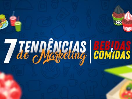 7 tendências de marketing para comidas e bebidas