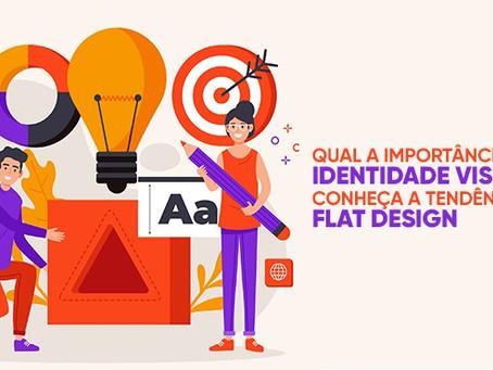 Qual a importância da identidade visual? Conheça a tendência Flat Design