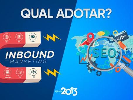 Inbound Marketing ou SEO - Qual adotar?