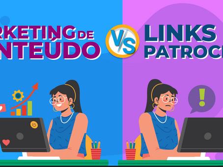 Marketing de Conteúdo VS Links patrocinados