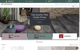 BUSSINES TYPE: Online Store - Natural Stone & Porcelain Tiles