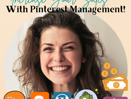 Increase Your Sales With Pinterest Management!