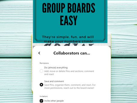 Making Pinterest Group Boards Easy.