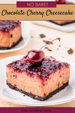 CHOCOLATE-CHERRY-CHEESECAKE-NO-BAKE-RECIPE-BROKEN-OVEN-BAKING-COMPANY