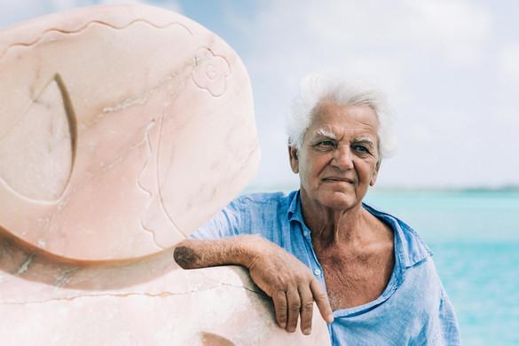 Bora Bora Art Artist Garrick Yrondi Oil