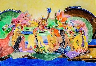 Art Gallery Bora Bora Artist Garrick Yrondi