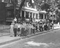Children of the YM-YWHA on Major Street