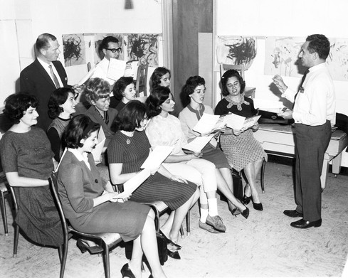 Community Choir 1963.