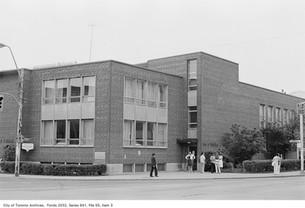 Exterior of the Bloor Y in 1972